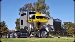 Custom Kenworth Semi Trucks - YouTube