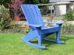 The Adirondack Rocker Chair