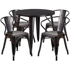 30'' Round Metal Indoor-Outdoor Table Set With 4 Arm Chairs Jack Daniels Whiskey Barrel Table With 4 Stave Chairs And Metal Footrest Ask For Freight Quote Goplus 5 Pcs Black Ding Room Set Modern Wooden Steel Frame Home Kitchen Fniture Hw54791 30 Round Silver Inoutdoor Cafe 0075modern White High Gloss 2 Outdoor Table Chairs Metal Cafe Two Stock Photo 70199 Alamy Stainless 6 Arctic I Crosley Kaplan 4piece Patio Seating Oatmeal Cushion Loveseat 2chairs Coffee Rustic And Pieces Glass Tabletop Diy Patterns Pads Brown Tufted Target Grey