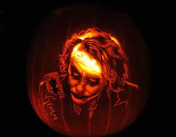 The Joker Pumpkin Stencil by 20 Of The Best Pumpkin Carvings Ever