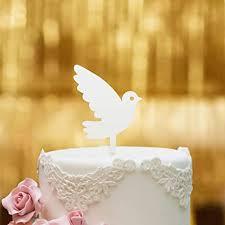 dankeskarte cake topper taube zur taufe für die tauftorte acrylglas weiss s tortenaufsatz kuchen tortendeko tortenstecker