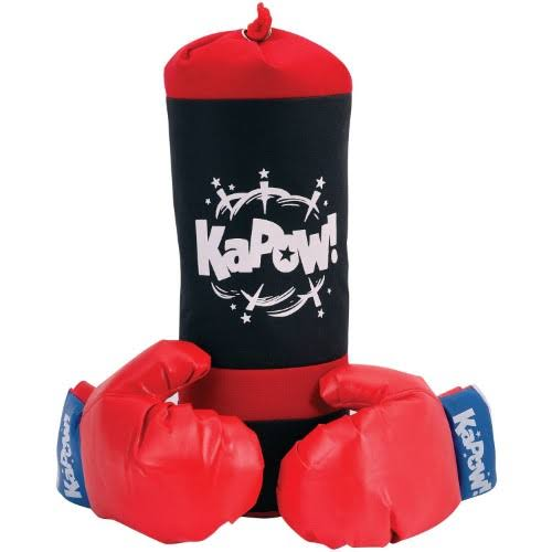 Schylling Punching Bag and Glove Set for Children