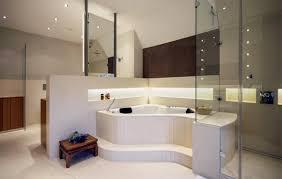 whirlpool mit beleuchteter ablage bad badezimmer