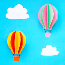 Step 4 Create As Many Hot Air Balloons You Wish Then Cut Out Some