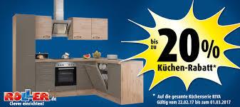 küchenaktion riva roller möbelhaus
