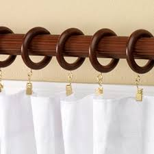 Curtain Rod Holders Allen Roth by Elegant Curtain Rod Finials Allen Roth 2pack Walnut Wood Rods Sets
