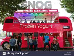 The Snog Frozen Yogurt Double Decker London Bus On The Southbank ... Tacos De Santiago Orange County Food Trucks Roaming Hunger Truck Full Kitchen Advark Event Logistics Koffie Barista Bandits Food Truck On Rrrrollend Rotterdam Two Blokes And A Bus Mobile Vintage Elegant Trailers In St Lawrence Market Vendor Busters Sea Cove Launches Gourmet Nellies Double Decker Community Scene Life Of Snacking Bear The Mandalay Decker Mobile Cateringfood Truck Best British For Sale Victoria And A By Kickstarter