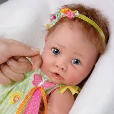 45 Bábika LOLA HELLO DOLLY Baby Dolls Dolls A Newborn Baby Dolls