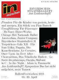 In Munchen Ausgabe 07 2016 By InMagazin Verlags GmbH