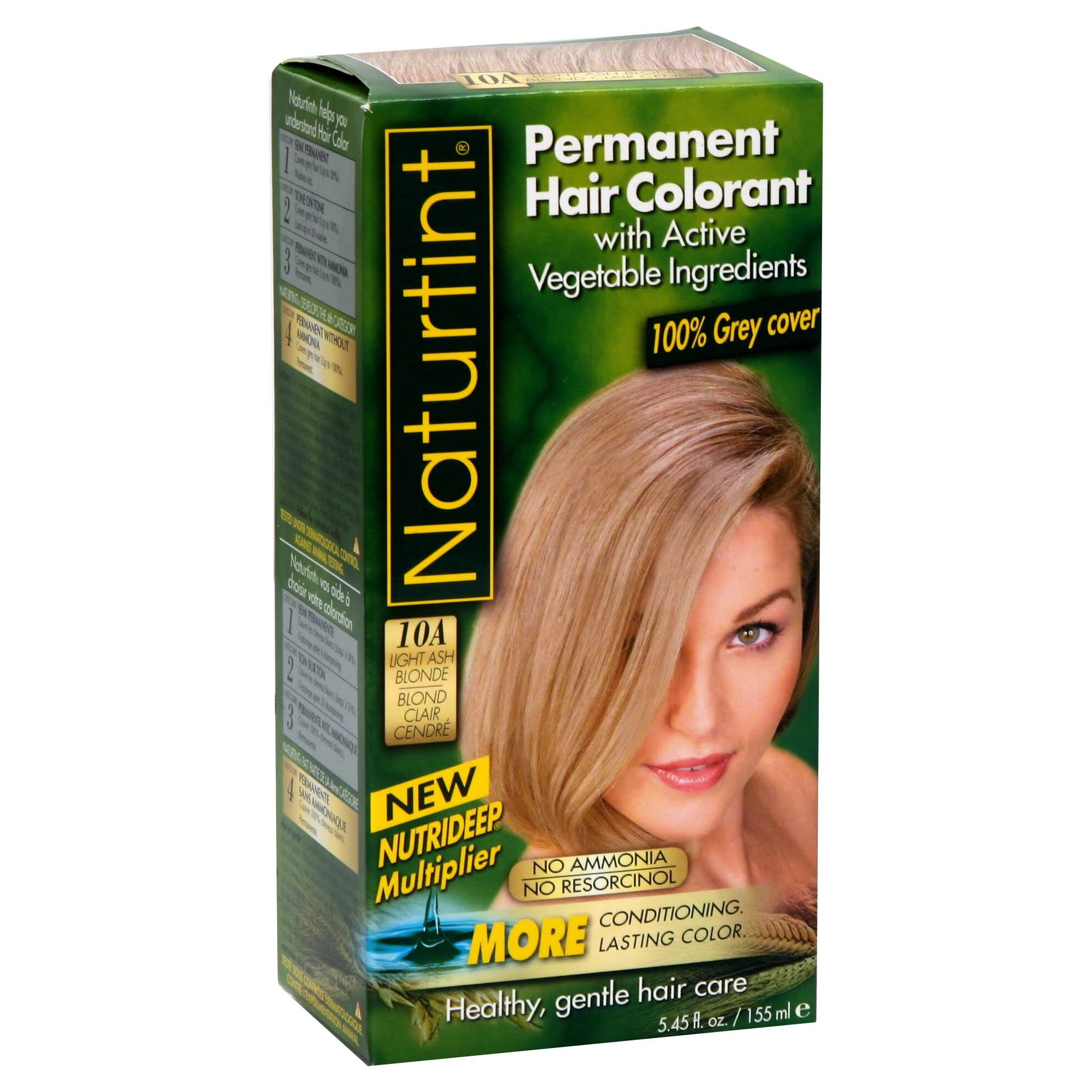 Naturtint Permanent Hair Colour - 10A Light Ash Blonde