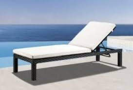 impulses wicker furniture outdoor patio chaise lounge chair