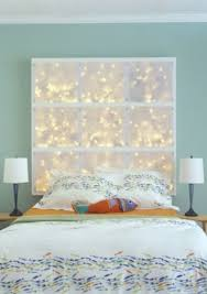 This DIY LED Headboard Could Make Your Bedroom Magical Not Only For Christmas But The