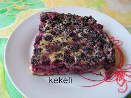 recette de clafoutis aux mûres par kekeli