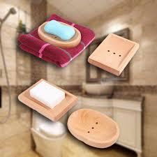 dropshipping holz holz seifenschale ablage halter seife box bad dusche platte badezimmer u