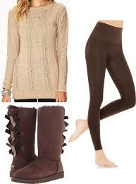 Cute And Cozy Leggings Outfits