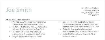 Professional Accomplishments On Resume Examples Plus Achievements Section To Prepare