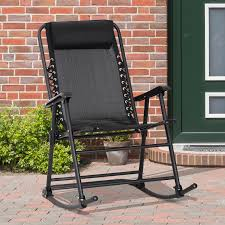 Outsunny Folding Rocking Chair Outdoor Portable Zero Gravity Chair ... Hampton Bay Black Wood Outdoor Rocking Chairit130828b The Home Depot Garden Tasures Chair With Slat Seat At Lowescom Amazoncom Casart Indoor Wooden Porch Chairs Lowes White Patio Wicker Rocker Wido 3 Piece Set 2 X Black Rocking Chair And Table Garden Patio Pool Ebay Graphics Of Imposing Walmart Recliner Sale Highwood Usa Lehigh Recycled Plastic Inoutdoor 3pc Set With Cushion Shop Intertional Concepts