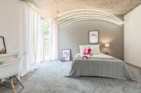 75 schlafzimmer mit teppichboden und grauem boden ideen