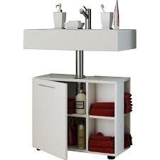 vcm bad unterschrank waschtisch waschbeckenunterschrank badunterschrank schrank möbel clevaso 50 x 60 x 29 cm badezimmer regal weiß
