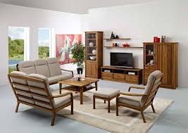 Living Room Solid Wood Furniture Charming On For Sets 10
