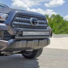 2016 Tacoma O.R. Light Bar With Multi-mount For LED. Mounts Up To A ... Back Rack With Light Bar Plowsite Red Line Land Cruisers 44 Led Fj40 Light Bar The Most Incredible Off Road Bars Regarding Really Encourage Steelcraft 9074020 3 Black Bull Skid Plate Raxiom F150 50 In Straight Roof Mounting Bracket Roofmounted Is Cab Visors Cousin Drive Canton Akron Ohio Jeep Lights Truck Brilliant Emergency Led Intended For House Housestclaircom 200914 42 Grill W Custom Mounts Harness 22 32 52inch Combo 4d For Trucks Trailer Ip67 Hightech Lighting Rigid Industries Adapt Recoil