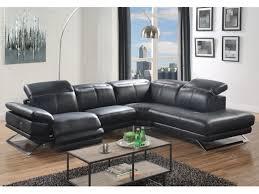 canape angle cuir relax electrique canapé d angle relax électrique en cuir noir ou blanc puno