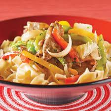 cuisiner le chou chinois cuit sauté de boeuf aux poivrons et chou chinois recettes cuisine