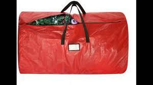 Upright Christmas Tree Storage Bag by Christmas Tree Bags Youtube