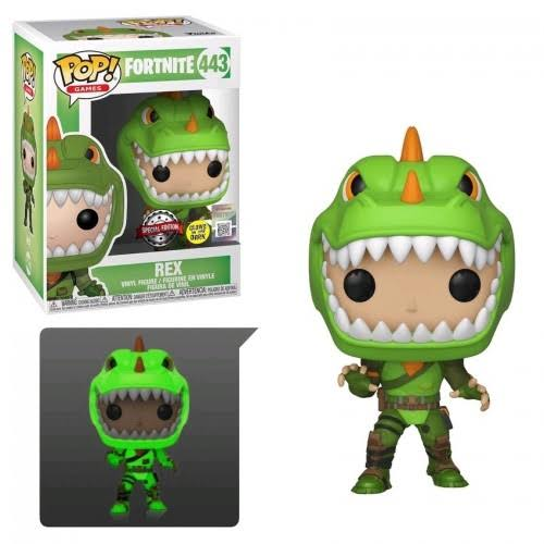 Fortnite Funko Pop! Games Rex Vinyl Figure [Glow-in-the-Dark]