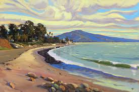 100 Butterfly Beach Chris Potter Prints Bay Montecito California