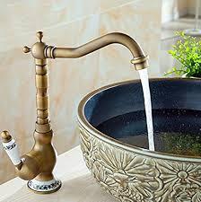furesnts moderne home küche und bad armatur antike alle kupfer mischbatterie küche badezimmer waschbecken küchenarmaturen heiße und kalte