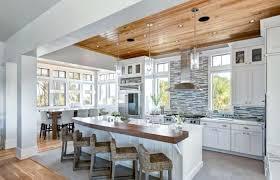 deco cuisine blanc et bois deco cuisine blanc et bois cuisine blanc gris et deco cuisine blanc