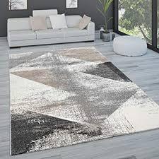 paco home teppich wohnzimmer kurzflor pastell vintage look
