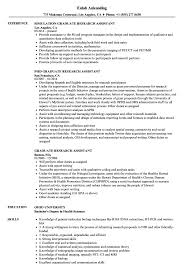 Graduate Research Assistant Resume Samples | Velvet Jobs Resume For Research Assistant Sample Rumes Interns For Entry Level Clinical Associate Undergraduate Assistant Example Executive Administrative Labatory Technician Free Lab Examples By Real People Market Objective New Teacher Aide No Experience Elegant Luxury Psychology Atclgrain Biology Ixiplay