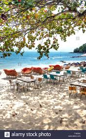 Sihanoukville, Cambodia - March 9, 2019: Tables And Chairs Of A Cafe ... Best Rattan Garden Fniture And Where To Buy It The Telegraph Under The Sea Table Set Up Underthesea Mermaid Tablesettting Bump Kids Writing Chair Antique Vintage Midcentury Modern Fniture 529055 For Little Mermaid Table Set Up Seathe Party Beach Chairs With On Beach Under Palm Tree In Front Setting Mood Patio Sets At Lowescom Snhetta Completes Europes First Undwater Restaurant Norway Harveys Shop Sofas Ding Home Accsories More Mini World Chairs Sihanoukville Cambodia March 9 2019 Tables Of A Cafe
