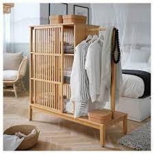 möbel 120x123 cm bambus ikea schlafzimmerschrank