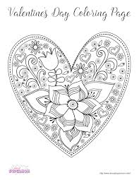 FREE Valentines Day Coloring Pages For Grown Ups