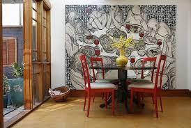 kreative wandgestaltung mit kunstwerken 12 originelle ideen