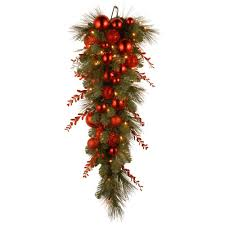 Christmas Tree Shop Syracuse Ny by National Tree Company Decorative Collection 36 In Christmas Red