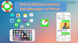 How to Retrieve Deleted Text Messages on iPhone 7 6s 6 5s 5 4s 4