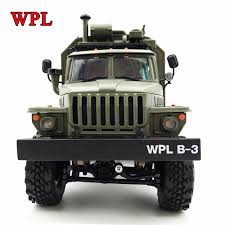 100 Rock Trucks NEW WPL RC Truck B36 Ural 116 24G 6WD Remote Control Military