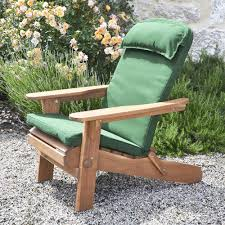 Amazon Uk Patio Chair Cushions by Plant Theatre Adirondack Chair Luxury High Back Cushion With Head