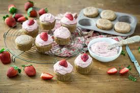 "Strawberry Cupcakes """