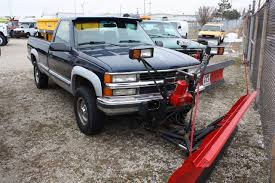 100 Plow For Truck 1995 CHEVROLET K2500 Waukegan IL 120741530