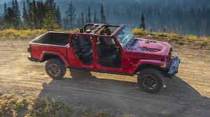 L.A. Auto Show: The 2020 Jeep Gladiator Pickup Is A Wrangler That ... M151 Ton 44 Utility Truck Wikipedia Torquelist 20 Jeep Gladiator 2018 Wrangler News Specs Performance Release Date New 2019 Ram 1500 4 Door Pickup In Cold Lake Ab 119 Jeep Ultimate Truck Off Road Center Omaha Ne 4door Ewillys Jk8 Ipdence Diy Mopar Kit Allows Owners To Turn 4door Coming 2013 Rendering Youtube Wheels Guy 2732