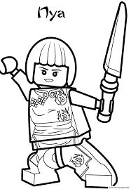Nya Ninjago Sd2d8 Coloring Pages Printable