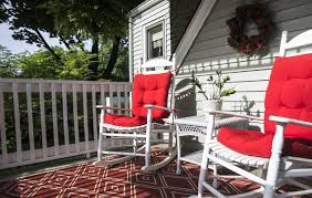Outdoor Spaces: Rocking On A Williamsville Porch – The Buffalo News My Southern Front Porch Design The Black Rocking Chairs Are Solid Hardwood Crafted Log Rocker For Inside Or Out Cabin Home 7 Fabulous Accent Chairs Under 300 10 Awesome Porch Rocking Best Of Harper House Gci Outdoor Freestyle Pro Chair With Builtin Carry Handle Leather Mission Rejuvenation Birch Lane Heritage Wellington High Back Patio Amazoncom Outsunny Wooden Buttercup Modern Blu Dot Hickory Double Amish Fniture Cabinfield