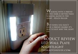 led wall plate light this s house