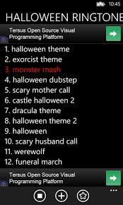 Scary Halloween Ringtones Free by Halloween Ringtone Free Windows Phone App Market