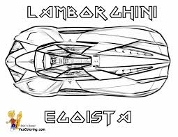 Print Off Lamborghini Concept 3 4 Top View At YesColoring